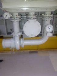 installed pump